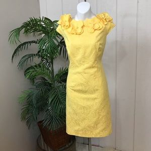 Dresses & Skirts - SD spring collection Yellow Midi dress size 10